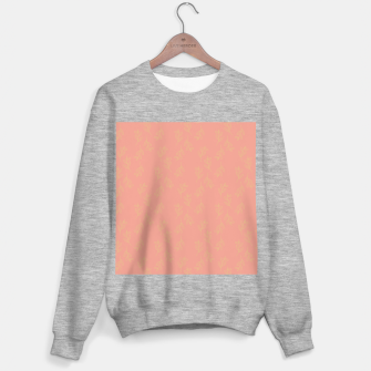 Thumbnail image of Feeling of lightness Pattern II - Melon color Sweater regular, Live Heroes
