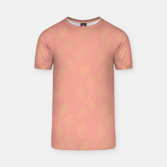 Thumbnail image of Feeling of lightness Pattern II - Melon color T-shirt, Live Heroes