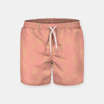 Thumbnail image of Feeling of lightness Pattern II - Melon color Swim Shorts, Live Heroes