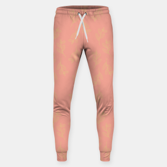 Thumbnail image of Feeling of lightness Pattern II - Melon color Sweatpants, Live Heroes