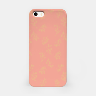 Thumbnail image of Feeling of lightness Pattern II - Melon color iPhone Case, Live Heroes