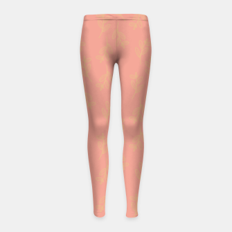 Thumbnail image of Feeling of lightness Pattern II - Melon color Girl's leggings, Live Heroes