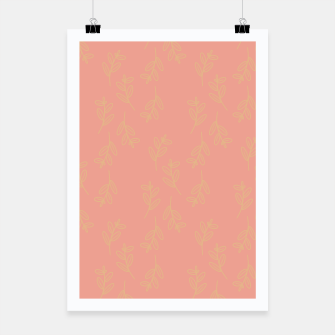 Thumbnail image of Feeling of lightness Pattern II - Melon color Poster, Live Heroes