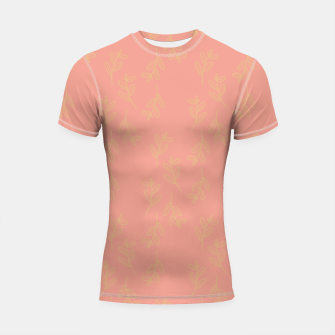 Thumbnail image of Feeling of lightness Pattern II - Melon color Shortsleeve rashguard, Live Heroes