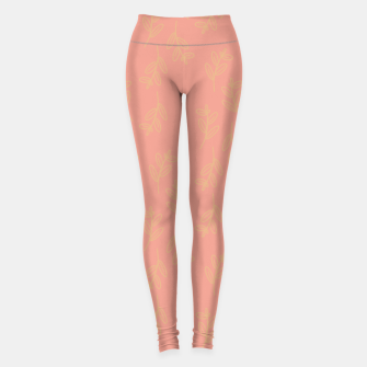 Thumbnail image of Feeling of lightness Pattern II - Melon color Leggings, Live Heroes