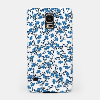 Thumbnail image of Blue Flower Pattern #2 #spring #floral #decor #art  Handyhülle für Samsung, Live Heroes