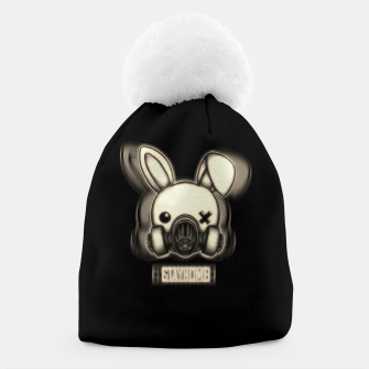 Miniatur Stay Home Bunny Beanie, Live Heroes