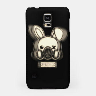 Miniatur Stay Home Bunny Samsung Case, Live Heroes