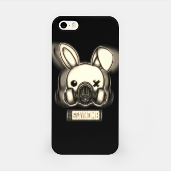 Miniatur Stay Home Bunny iPhone Case, Live Heroes
