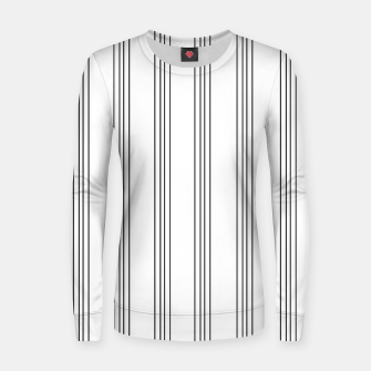 Miniaturka Minimal Black White Stripe Glam #3 #lines #decor #art  Frauen sweatshirt, Live Heroes