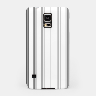 Thumbnail image of Minimal Black White Stripe Glam #3 #lines #decor #art  Handyhülle für Samsung, Live Heroes