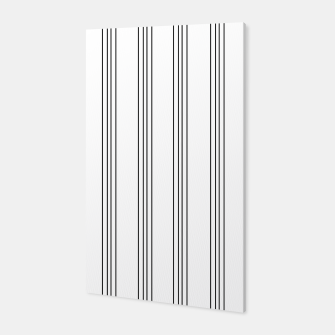 Miniaturka Minimal Black White Stripe Glam #3 #lines #decor #art  Canvas, Live Heroes