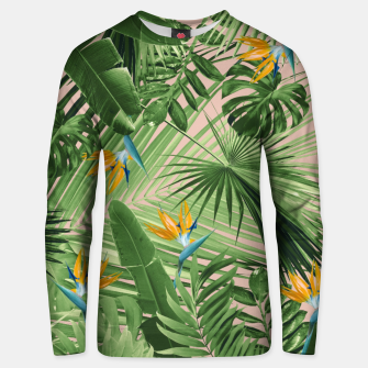 Thumbnail image of Bird of Paradise Jungle Leaves Dream #2 #tropical #decor #art  Unisex sweatshirt, Live Heroes