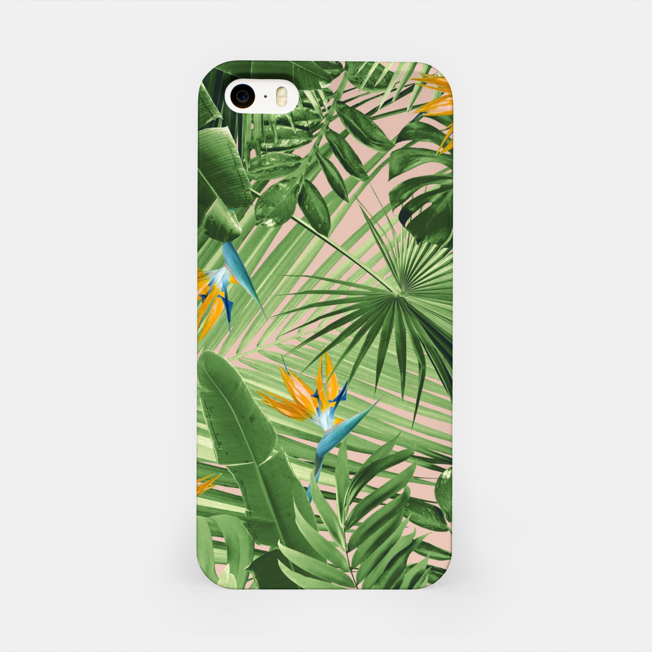 Image of Bird of Paradise Jungle Leaves Dream #2 #tropical #decor #art  iPhone-Hülle - Live Heroes