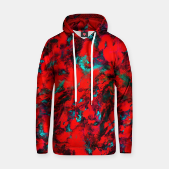 Fluttering red Hoodie thumbnail image