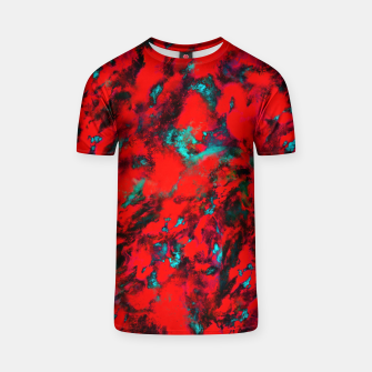 Fluttering red T-shirt thumbnail image