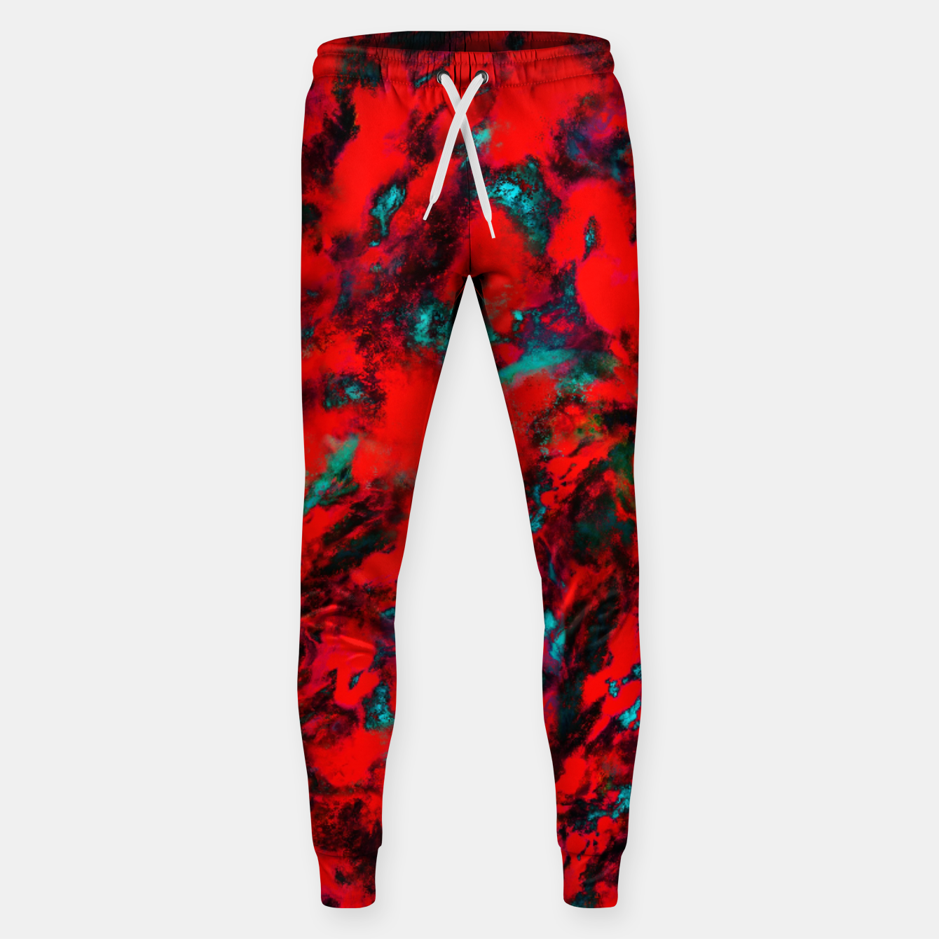 Image of Fluttering red Sweatpants - Live Heroes