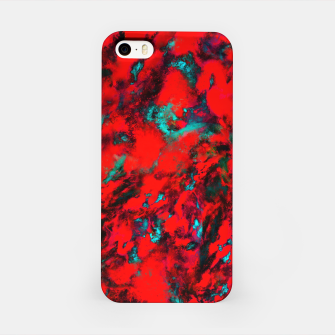 Fluttering red iPhone Case thumbnail image
