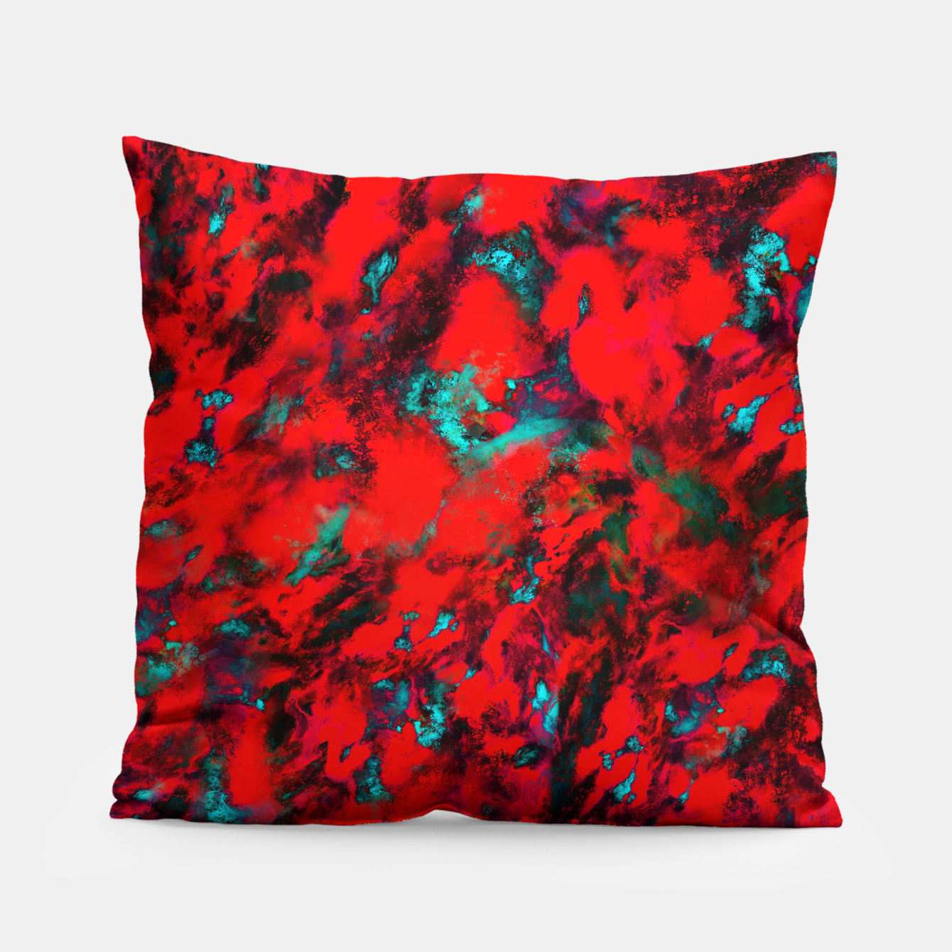Image of Fluttering red Pillow - Live Heroes