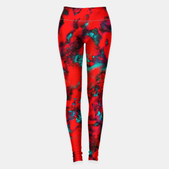 Fluttering red Leggings thumbnail image
