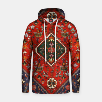 Thumbnail image of Red & Blue Geometric Moroccan Antique Artwork  Hoodie, Live Heroes