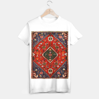 Thumbnail image of Red & Blue Geometric Moroccan Antique Artwork  T-shirt regular, Live Heroes