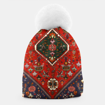 Thumbnail image of Red & Blue Geometric Moroccan Antique Artwork  Beanie, Live Heroes