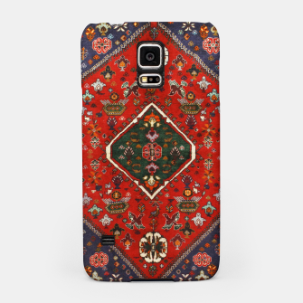 Thumbnail image of Red & Blue Geometric Moroccan Antique Artwork  Samsung Case, Live Heroes