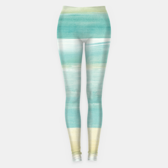 Miniaturka Watercolor Abstract Minimalism #1 #minimal #painting #decor #art  Leggings, Live Heroes