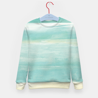 Miniaturka Watercolor Abstract Minimalism #1 #minimal #painting #decor #art  Kindersweatshirt, Live Heroes