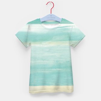 Watercolor Abstract Minimalism #1 #minimal #painting #decor #art  T-Shirt für kinder obraz miniatury