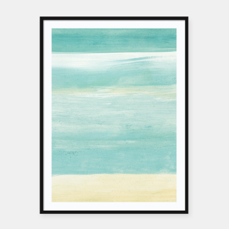 Miniaturka Watercolor Abstract Minimalism #1 #minimal #painting #decor #art  Plakat mit rahmen, Live Heroes