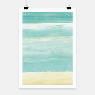 Miniaturka Watercolor Abstract Minimalism #1 #minimal #painting #decor #art  Plakat, Live Heroes