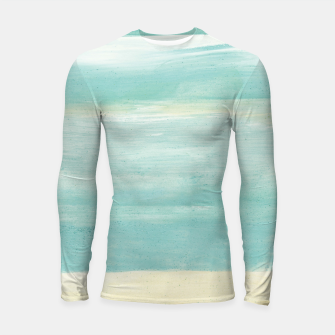 Imagen en miniatura de Watercolor Abstract Minimalism #1 #minimal #painting #decor #art  Longsleeve rashguard, Live Heroes