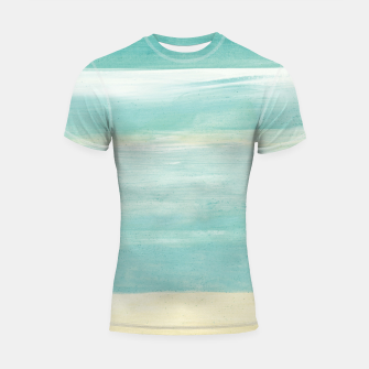 Imagen en miniatura de Watercolor Abstract Minimalism #1 #minimal #painting #decor #art  Shortsleeve rashguard, Live Heroes
