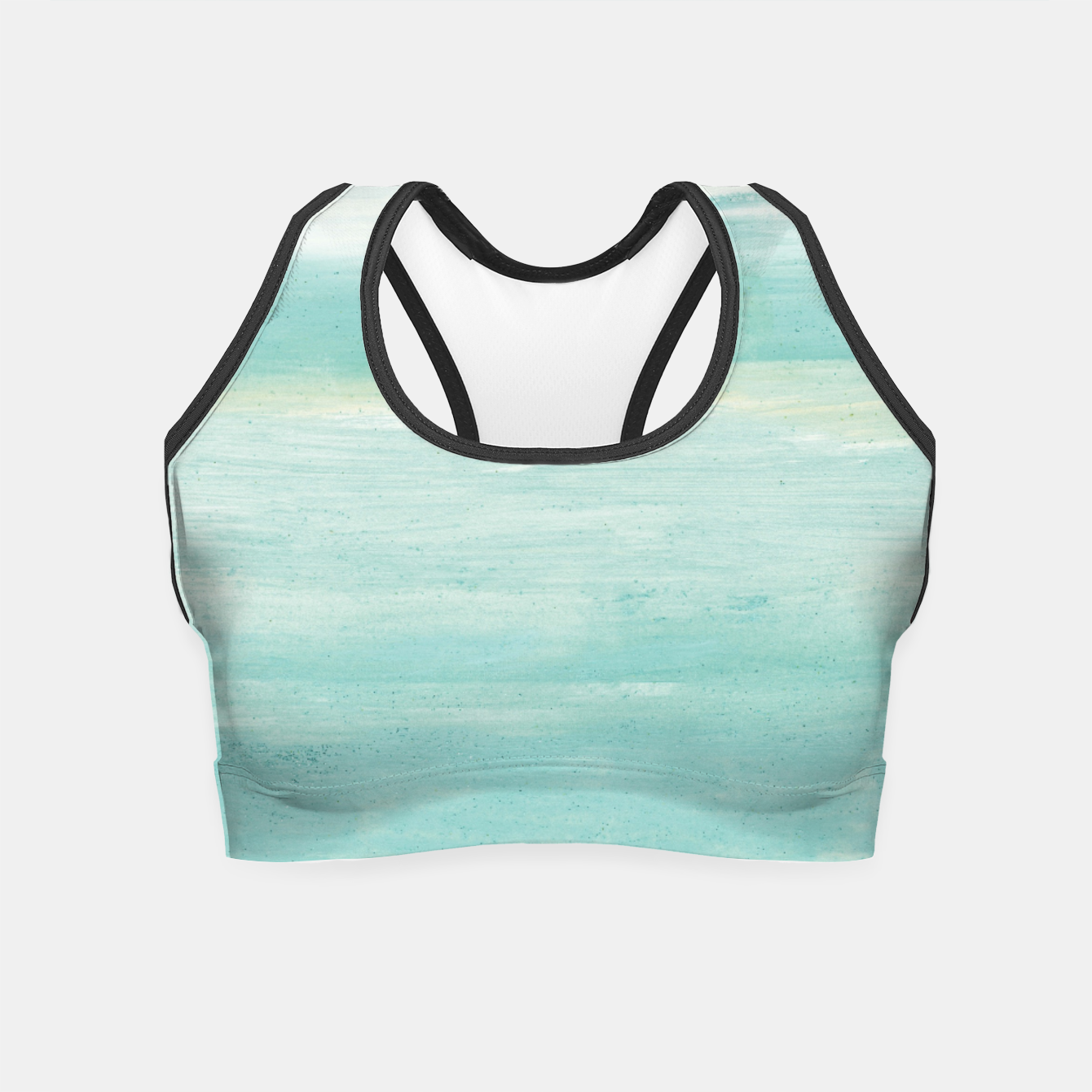 Zdjęcie Watercolor Abstract Minimalism #1 #minimal #painting #decor #art  Crop Top - Live Heroes