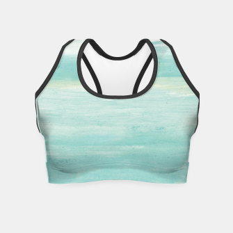 Miniaturka Watercolor Abstract Minimalism #1 #minimal #painting #decor #art  Crop Top, Live Heroes