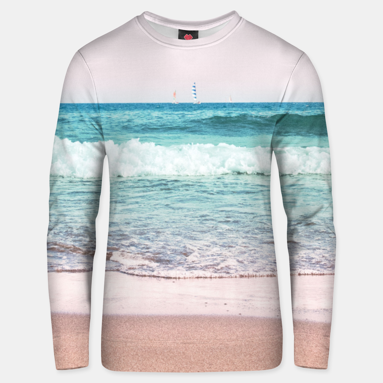 Zdjęcie Pastel Ocean Dream #1 #wall #decor #art Unisex sweatshirt - Live Heroes