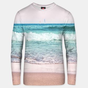 Pastel Ocean Dream #1 #wall #decor #art Unisex sweatshirt obraz miniatury