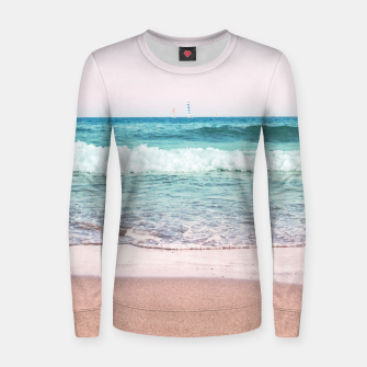 Pastel Ocean Dream #1 #wall #decor #art Frauen sweatshirt obraz miniatury