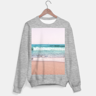 Pastel Ocean Dream #1 #wall #decor #art Sweatshirt regulär obraz miniatury