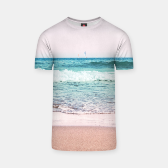 Pastel Ocean Dream #1 #wall #decor #art T-Shirt obraz miniatury