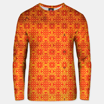 Thumbnail image of Oriental Orange Traditional Moroccan Style  Unisex sweater, Live Heroes