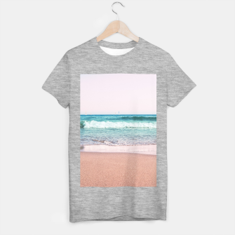 Pastel Ocean Dream #1 #wall #decor #art T-Shirt regulär obraz miniatury