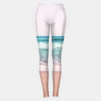 Pastel Ocean Dream #1 #wall #decor #art Leggings obraz miniatury