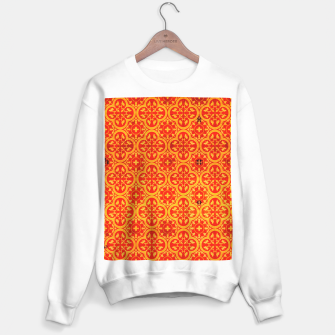 Thumbnail image of Oriental Orange Traditional Moroccan Style  Sweater regular, Live Heroes