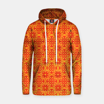 Thumbnail image of Oriental Orange Traditional Moroccan Style  Hoodie, Live Heroes