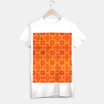 Thumbnail image of Oriental Orange Traditional Moroccan Style  T-shirt regular, Live Heroes