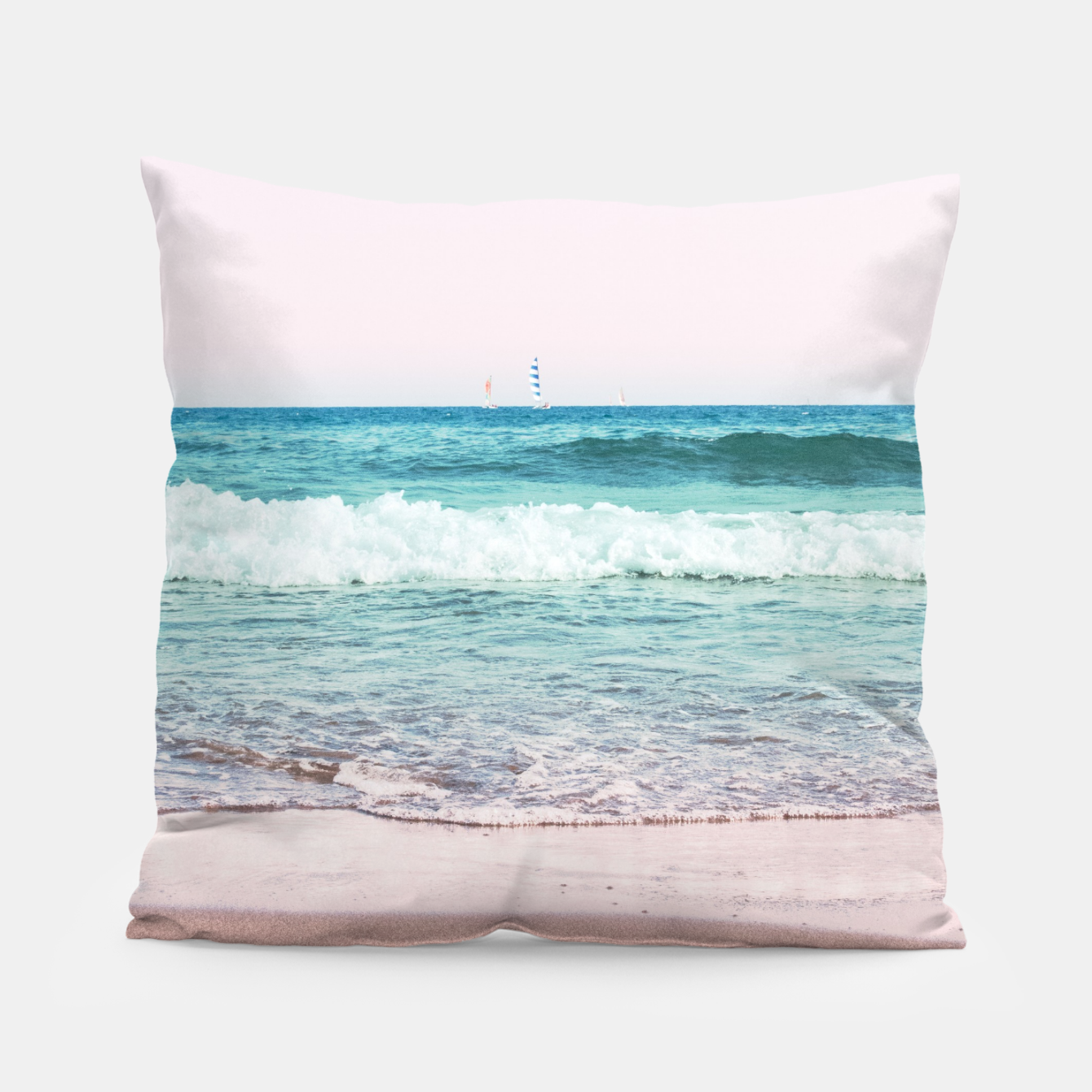 Zdjęcie Pastel Ocean Dream #1 #wall #decor #art Kissen - Live Heroes