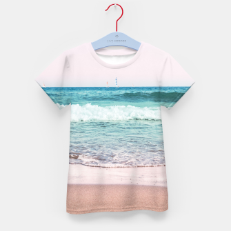 Pastel Ocean Dream #1 #wall #decor #art T-Shirt für kinder obraz miniatury